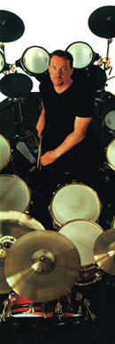 Neil Peart on the Drummerworld site